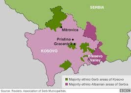 kosovo serbian land swap