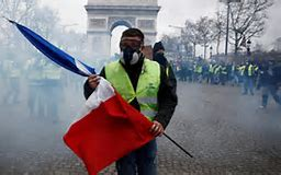 french protestor